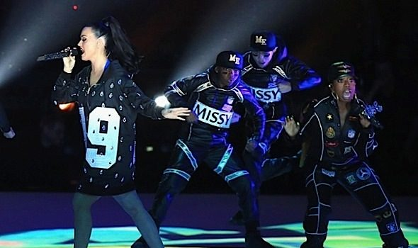 Katy Perry Enlists Lenny Kravitz & Missy Elliott For Super Bowl Halftime Show [VIDEO]