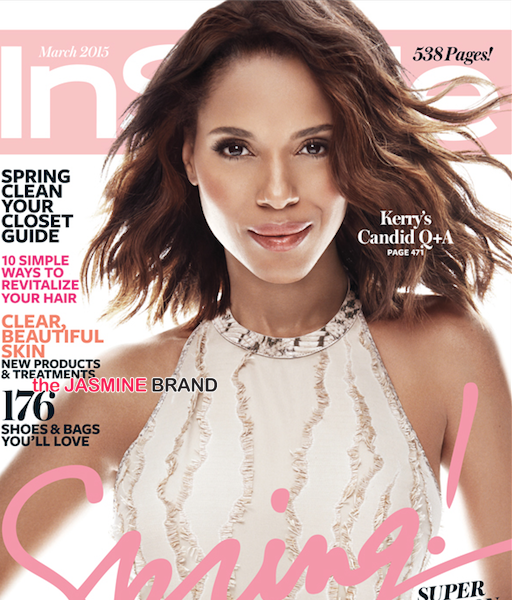 A Flawless Kerry Washington Covers InStyle [Photo]