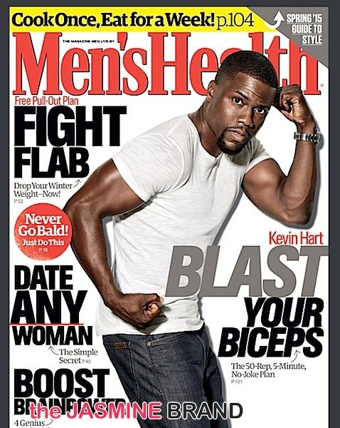 Kevin Hart Invades Men's Health: 'I'm a Big Goddamn Deal!'