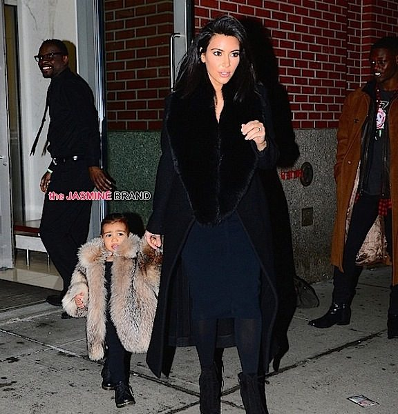 North West Rocks A Baby Fur, Kimora Lee Simmons' NYFW Baby Bump, Janet Jackson Pops Up In Italy + More Photos!