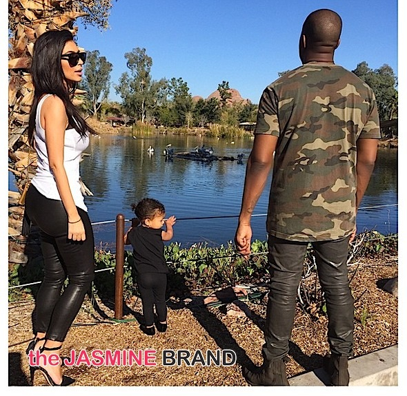 kim kardashian-north west-kanye west-the jasmine brand