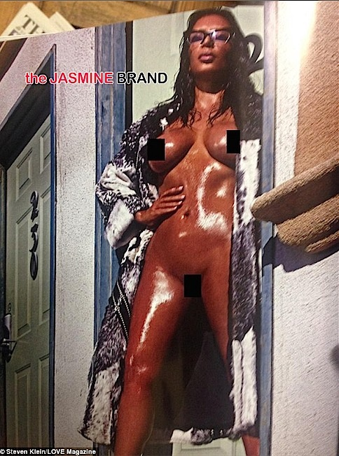 kim kardashian-nude frontal-love magazine-the jasmine brand