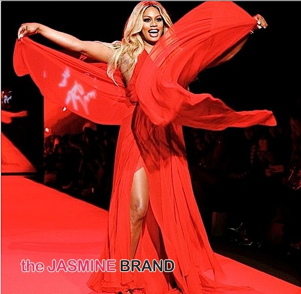 laverne cox-Go Red For Women Dress Collection-NYFW 2015-American Heart Association-the jasmine brand