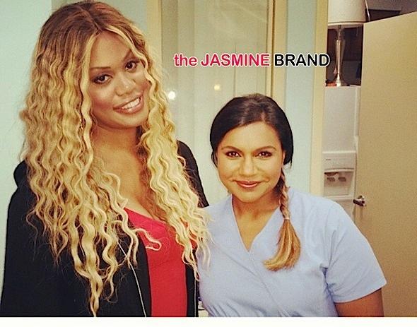 laverne cox-mindy kaling-the jasmine brand