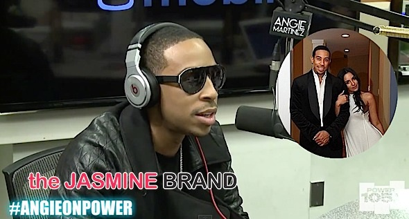 ludacris explains short engagement-quick wedding-the jasmine brand