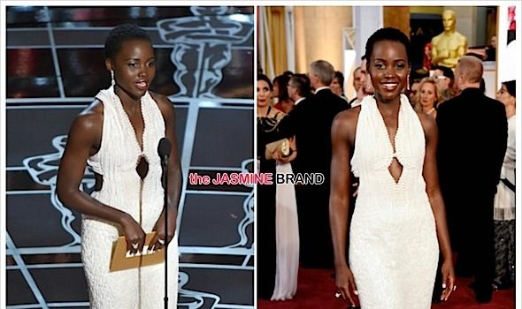 Sticky Fingers! Lupita Nyong'o's 150K Oscars Dress Jacked