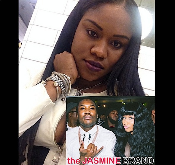 Nicki Minaj Intertwined In Meek Mill's Messy Instagram Beef With Baby Mama
