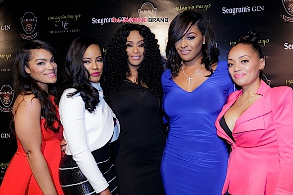 Mehgan James,Malaysia Pargo,Tami Roman,Brandi Maxwell and Patrice Curry