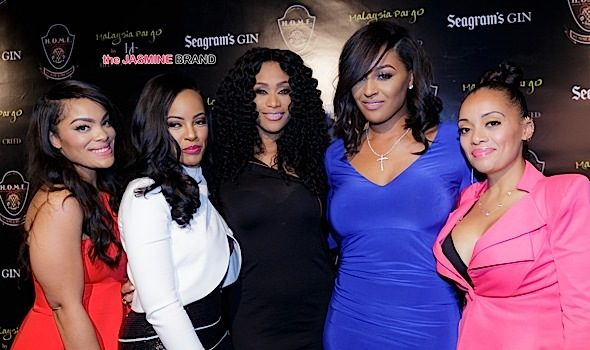 Basketball Wives LA's Malaysia Pargo Launches Bedding Line: Tami Roman, Monyetta Shaw, Brandi Maxiell & Newbies Mehgan James & Patrice Curry Attend [Photos]