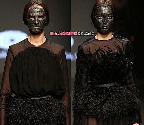 models-wear blackface-milan fashion week 2014-the jasmine brand