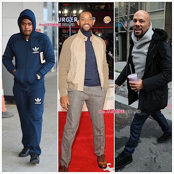 Celebrity Stalking: Will Smith, Common, Nas, Tracee Ellis Ross, Chrissy Teigen, Alesha Dixon [Photos]