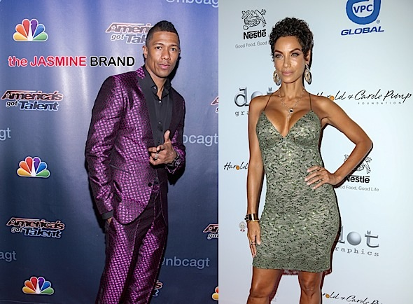 nick cannon-dating nicole murphy-the jasmine brand