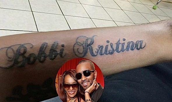 Ink Love! Nick Gordon Shows Off New Bobbi Kristina Tattoo [Photos]