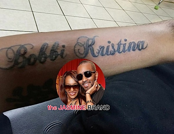 nick gordon-debuts bobbi kristina tattoo-the jasmine brand