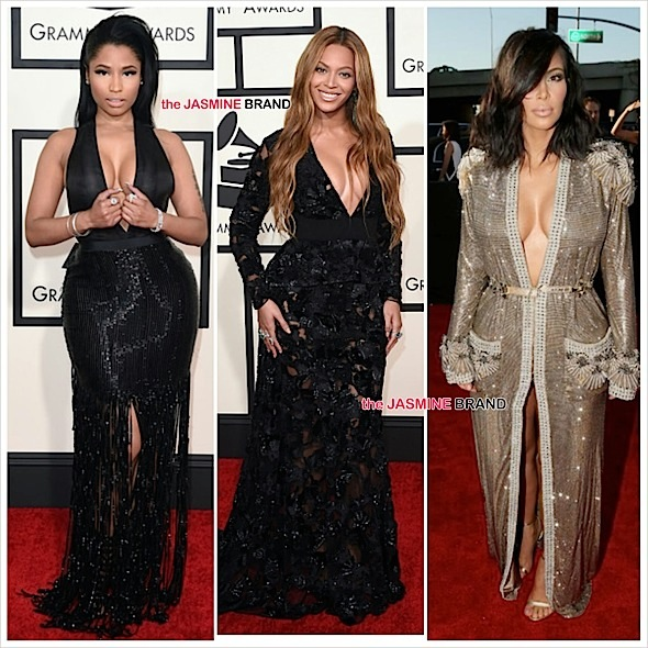 Grammy's Red Carpet Fashion: Beyonce, Nicki Minaj, Rita Ora, Ciara, Kim Kardashian, Kanye West & More! [Photos]