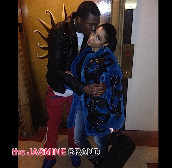 Meek Mill Kisses Nicki Minaj For Instagram, KimYe Take Baby North to Zoo, Rick Ross & GF Stunt with Bob Kraft + Diddy, K.Michelle, Karrueche, Jordin Sparks [Photos]