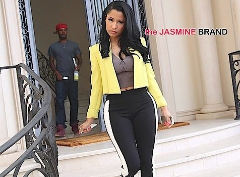 (EXCLUSIVE) Nicki Minaj Moves Out of 40k a Month Hollywood Mansion Following Break Up w/ Safaree