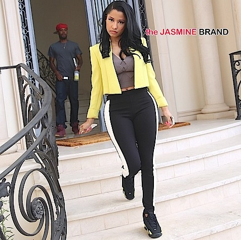 nicki minaj puts hollywood hills home on market-the jasmine brand