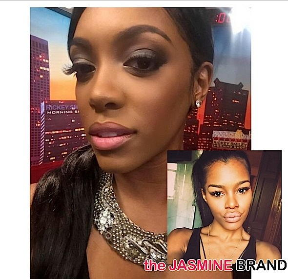 porsha williams-denies stealing teyana taylor-unbothered-the jasmine brand