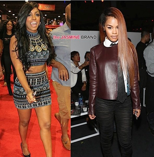 Teyana Taylor Accuses Porsha Williams of Stealing 'Unbothered' Clothing