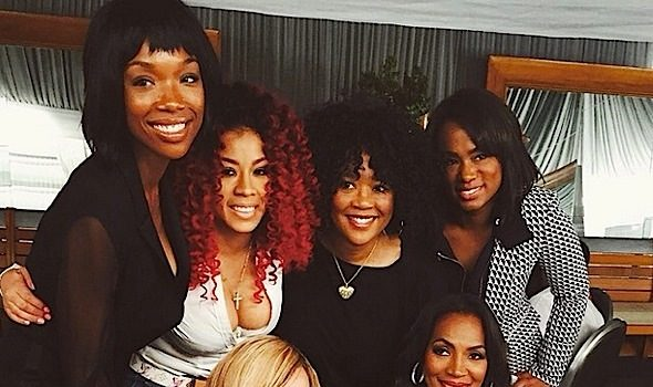 Celebs Attend MILF 'Moms I Like To Follow' Brunch: Brandy, Sonja Norwood, Keyshia Cole, Tiny Harris [Photos]