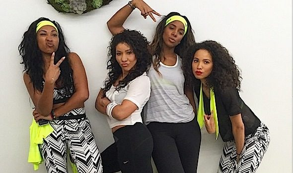 Pretty Girls Sweat! Kelly Rowland, Tia Mowry, Skylar Diggins, Melanie Fiona & More Get Fit! [Photos]