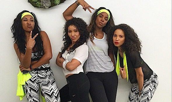 Pretty Girls Sweat! Kelly Rowland, Tia Mowry, Skylar Diggins, Melanie Fiona & More Get Fit! [Photos]