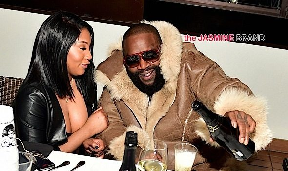 Rick Ross Hosts ATL Dinner With Girlfriend Ming Lee [Photos]