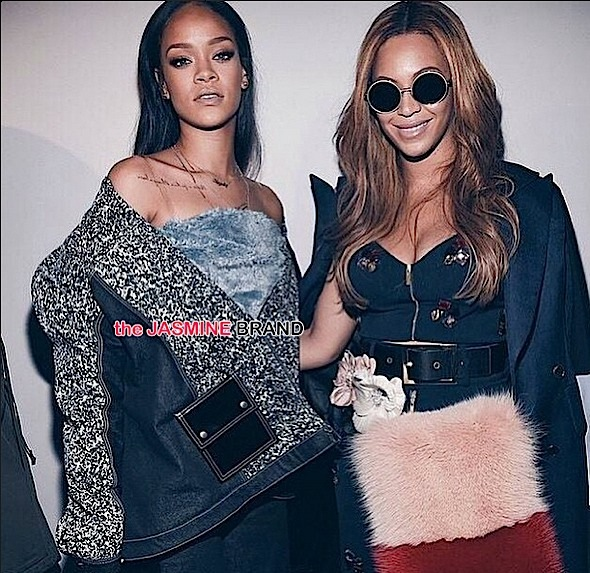 Rihanna Denies Shading Beyonce: Stop putting black women against each other!