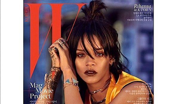 Rihanna Hits K-Town For W Magazine Korea [Photos]