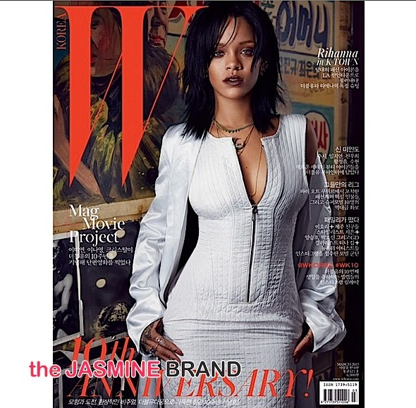 rihanna-cover W Magazine Korea-the jasmine brand