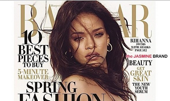 Rihanna Swims With Sharks For Harper's Bazaar [Photos]