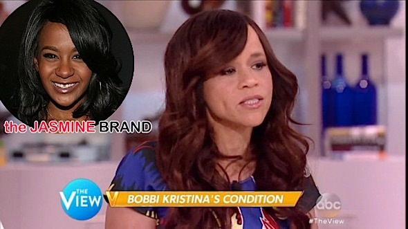 Rosie Perez Retracts Statement After Blaming Whitney Houston Biopic On Bobbi Kristina's Hospitalization