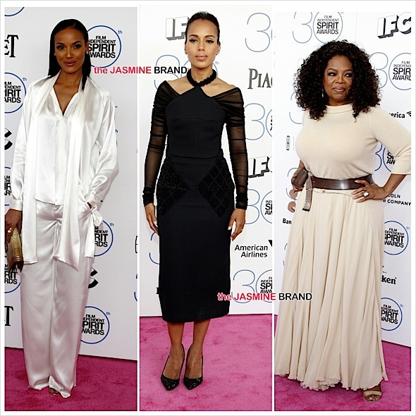 Oprah, Kerry Washington, Selita Ebanks, Common Hit 'Independent Spirit Awards' Red Carpet + Full Winner List [Photos]