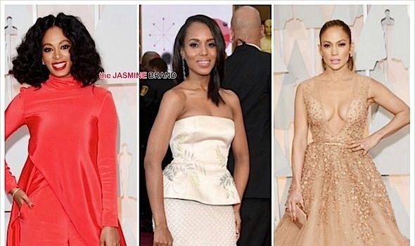 Oscars Red Carpet: J.Lo, Solange Knowles, Kerry Washington, Lupita Nyong'o, Kevin Hart, Zendaya [Photos]