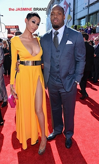 terrell suggs-wife candace suggs-the jasmine brand