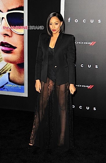 'Focus' Hosts LA Premiere: Will Smith, Jada Pinkett Smith, Karruche Tran, Christina Milian, Tia Mowry, Sheree Fletcher Attend [Photos]