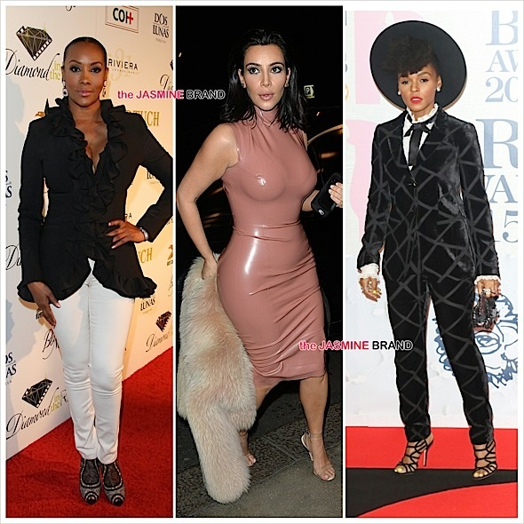 Celebrity Stalking: Kim Kardashian, Kanye West, Vivica Fox, Terrell Owens, Jordin Sparks, Janelle Monae, Rita Ora, Sam Smith [Photos]