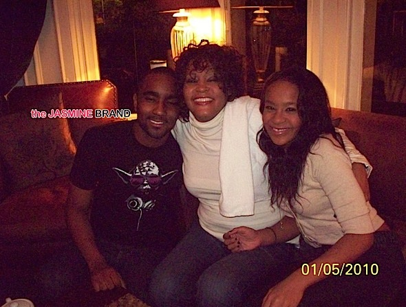 Nick, Whitney Houston, Bobbi Kristina