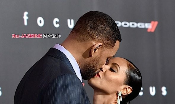 "Marriage Behavior! Jada Pinkett-Smith Likes Seeing Husband Will in Sex Scenes, ""It's kind of a nice voyeuristic way to see your man."""