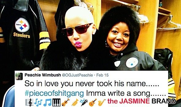 Wiz Khalifa's Mother Criticizes Amber Rose: You didn't take my son's last name!