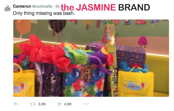 wiz khalifa-tweets-son sebastian misses birthday-blames amber rose-the jasmine brand