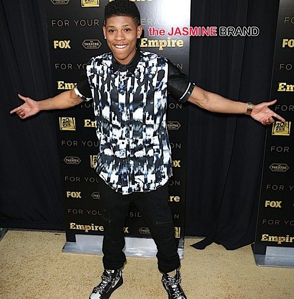 Empire Star Bryshere 'Yazz' Gray On Fame & Working With Timberland