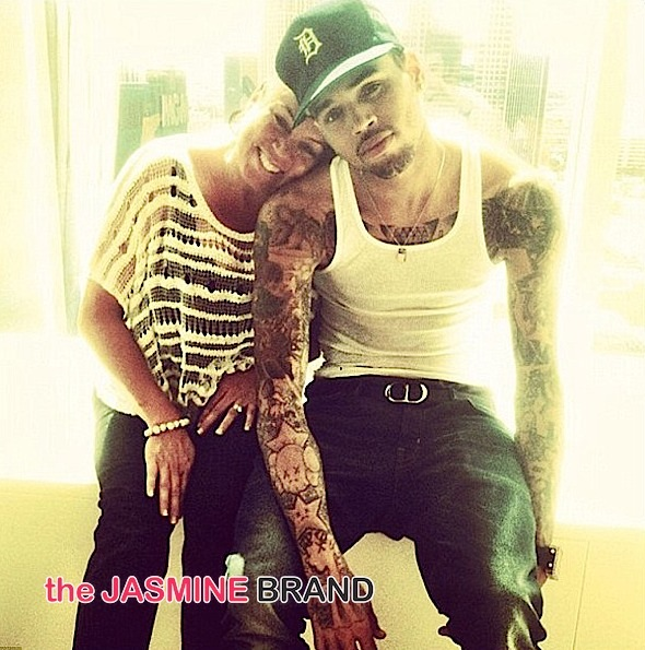 Chris Browns Mother, Joyce Hawkins-Subliminal Tweets About Sons Baby Drama-the jasmine brand