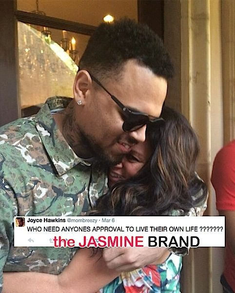 Chris Brown's Mom Gets Subliminal About Son's Baby Drama [Read the Tweets]