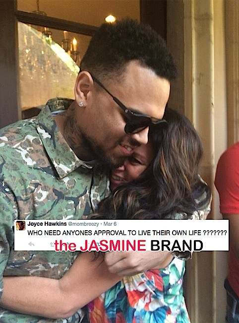 Chris Browns Mother, Joyce Hawkins, Throws Subliminal Tweets About Sons Baby Drama-the jasmine brand