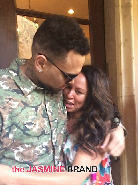 Chris Browns Mother, Joyce Hawkins, Throws Subliminal Tweets About Sons New Baby Drama-the jasmine brand