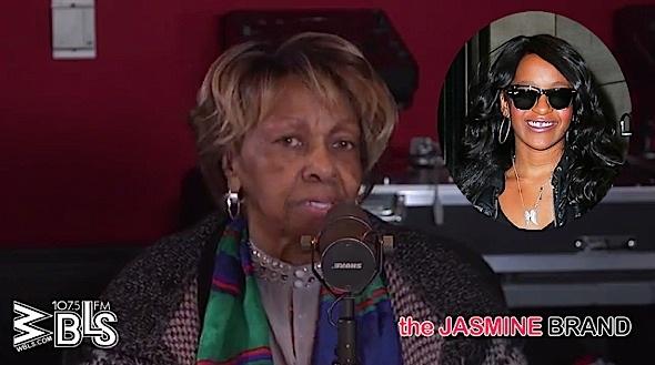 Cissy Houston Says Bobbi Kristina's Condition Not Hopeful: We're praying. [VIDEO]