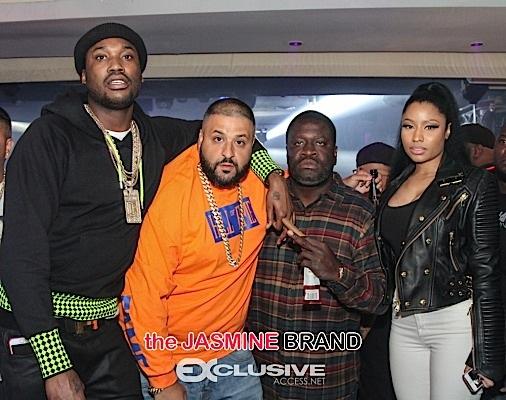 French Montana, Khloe Kardashian, Nikki Minaj, Meek Mill, Desean Jackson Party At Dream [Photos]
