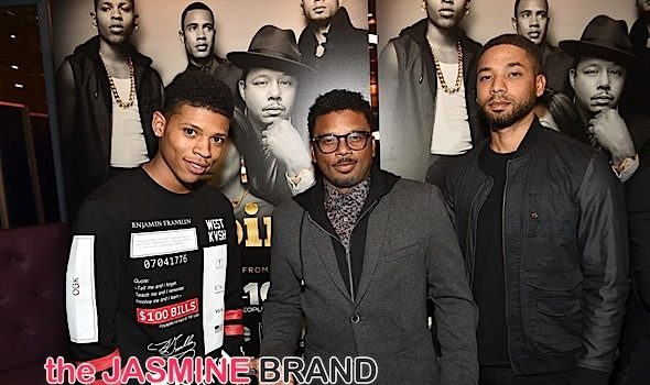 Jussie Smollett & Bryshere Y. Gray Promote 'Empire' Soundtrack [Photos]